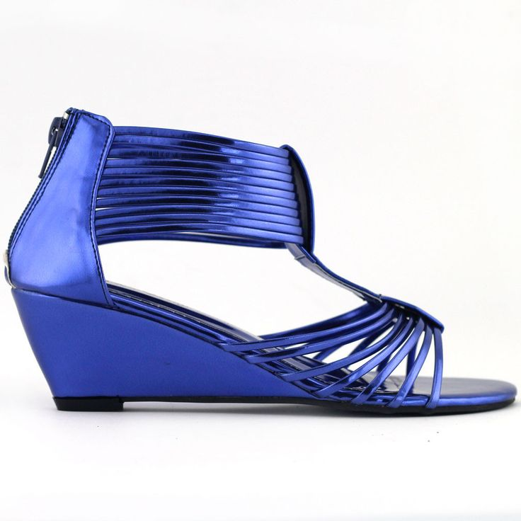 HOTTEST SHOES EVER DROPKICKS SHOW STORY ABSTRACT HEELS LF30501RB New Sexy Strappy Gladiator Wedge EVE Sandals Shoes Size 4 5 6 7 8 8.5 9