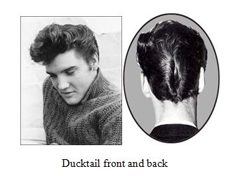 Tremendous 1000 Images About Da Or Ducks Tail Hairstyle On Pinterest Short Hairstyles Gunalazisus