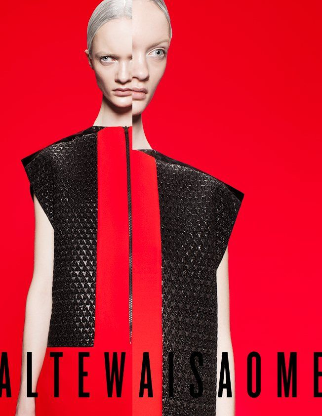 Ida Dyberg Stars in ALTEWAISAOMEs Fall 2012 Campaign by Alexander Dahl