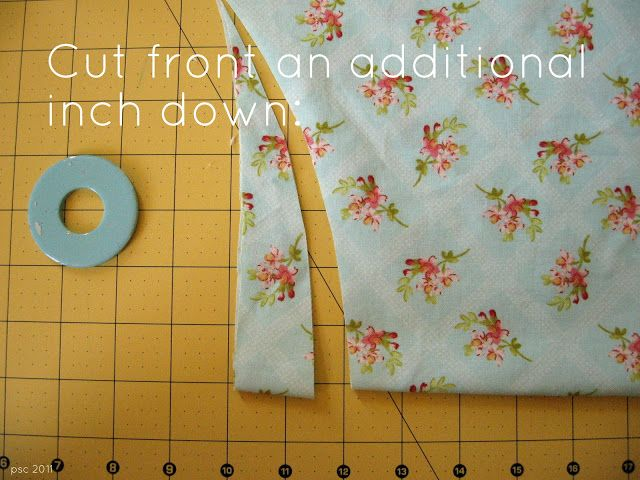 Pickup Some Creativity: Banded Peasant Blouse Tutorial, Part One.