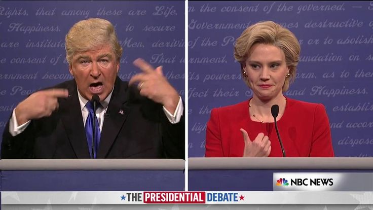 Alec Baldwin and SNL Nail Portraying The First 2016 Presidential Debate - YouTube