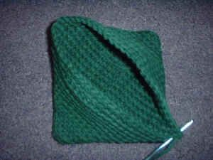 Crocheted Double Thick Diagonal Hot Pad Pattern at Mielke's Fiber Arts