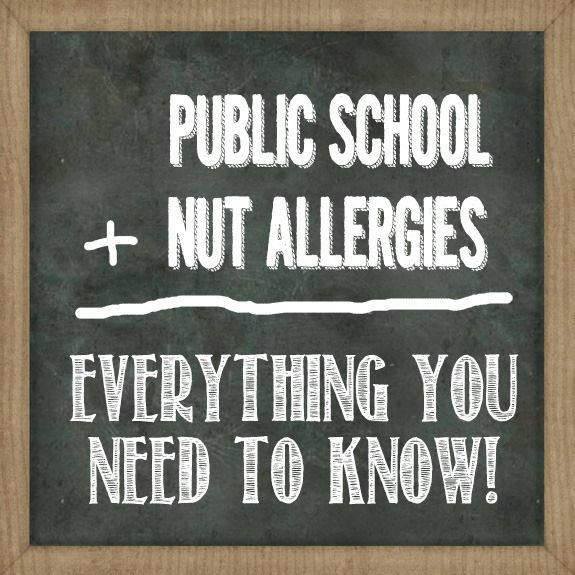 Navigating the Public School System with a Peanut Allergy | Over The Big Moon