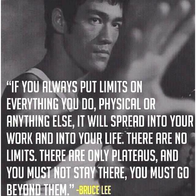 Bruce Lee - Limits