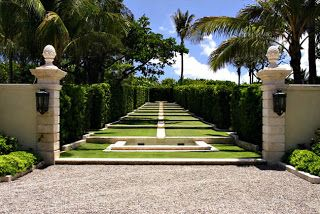 The Devoted Classicist: Maurice Fatio's Il Palmetto: The Garden