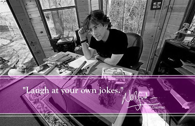 Top 10 Success Tips from Neil Gaiman