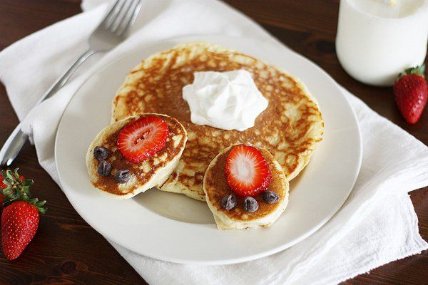 Bunny Butt Pancakes, image copyright: Bisquick