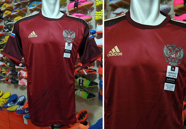 Jersey Rusia Home World Cup 2014 Grade Ori Rp 110.000   BB : 33241842 (A.n Ade Futsal & Soccer)  Call: 085658790893 WhatsApp : 082178006207