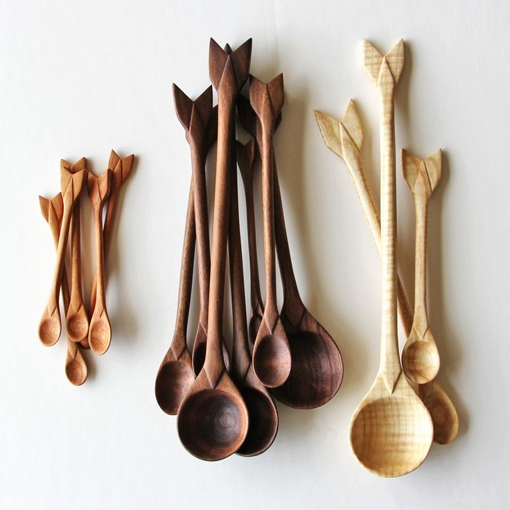 Arrow Spoons / Amelie Mancini