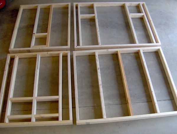 How to frame a chicken coop