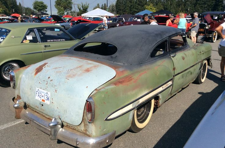 At the Falcon-Fairlaine-Comet Club's show in Langley BC. Chevy rat rod