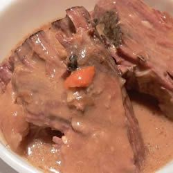 Venison Crockpot Recipes - try this with our venison roast.