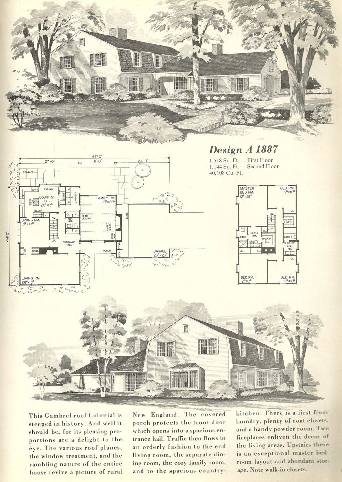 308 best images about vintage house plans on pinterest for Vintage garage plans