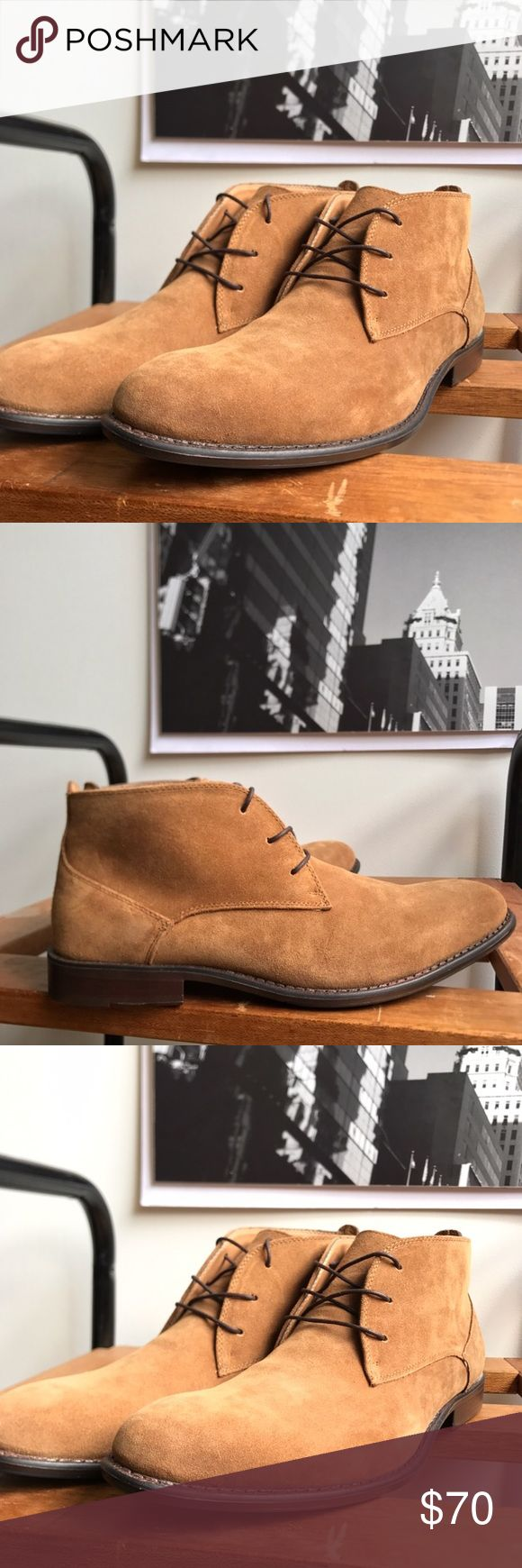 🙌🏾Brand New Aldo Chukka Boots #0194AO Brand new Aldo brown lace up chukka genuine suede leather boot. The outside and inside of the boot is leather. NO TRADES. NO LOWBALL OFFERS, Thank you! #men #aldo  #boot #menstyle #streetwear #fashion #brown #chukka #size7.5 #size37.5 #aldoboot Aldo Shoes Chukka Boots