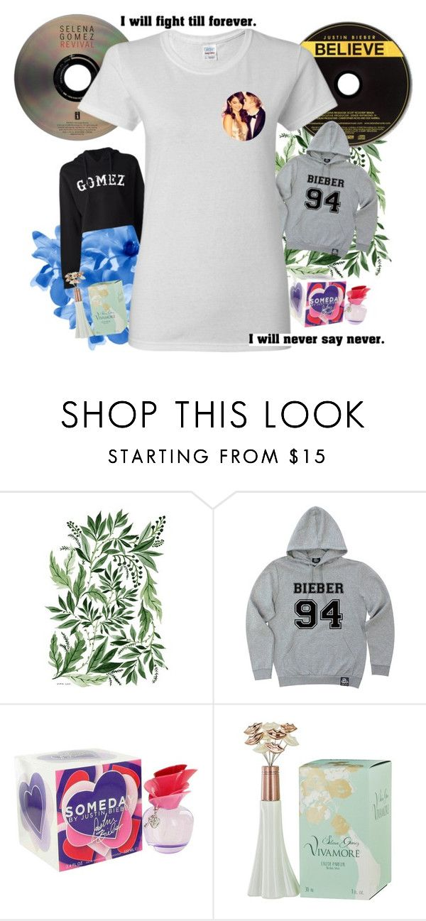 """""""jelena"""" by htotheizzyclothing on Polyvore featuring Justin Bieber, JustinBieber, selenagomez and jelena"""