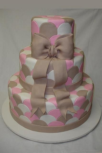 ties cake :D