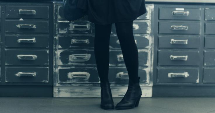 Head to toe in black always works. #slowdown