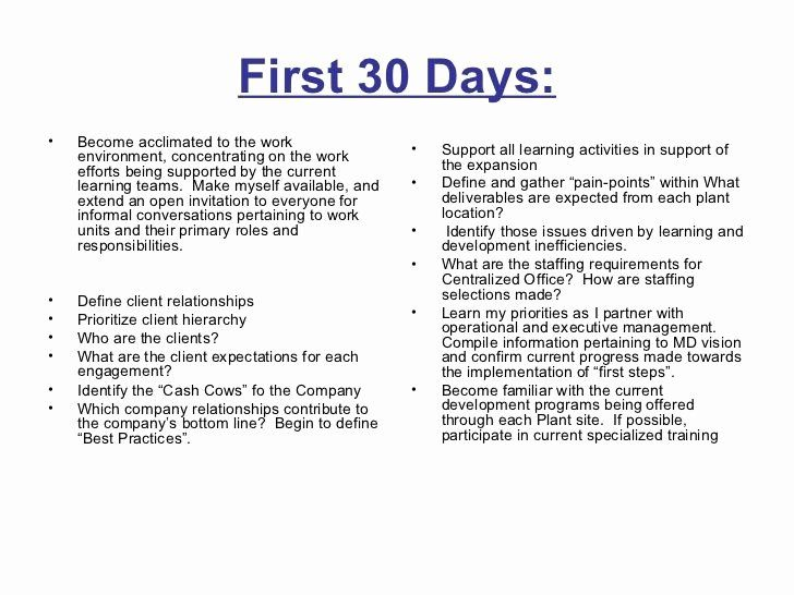 30 Day Action Plan Template Unique 30 60 90 Days Plan To Meet Goals For New Organization 90 Day Plan Simple Business Plan Template Day Plan