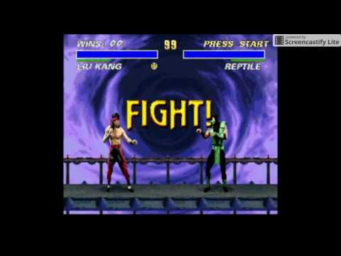 Ultimate Mortal Kombat 3 Snes Super Nintendo - Games Free