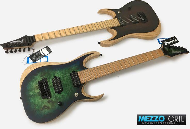 Ibanez RGDIX 6- és 7-húros elektromos gitárok