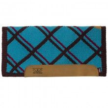 "Memory Foam Saddle Pads with Woven Top and Felt Bottom, 32"" x 32"""