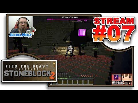 STREAM #07 - FIGHTING THE ENDER CHICKEN!!! Stream Highlights