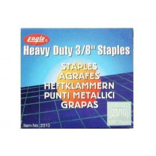 Tűzőkapocs 23/13 1000 darab Eagle 2313 - Staples 23/13 #staples_23_13 #staples #tűzőkapocs #tűzőkapocs_23_13 #eagle #heavy_duty_staples #agrafes #punti_metallici #heftklammern #grapas