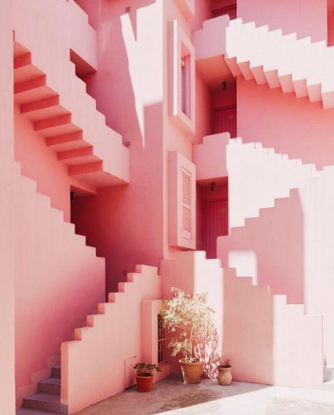 Summer 2017 Inspiration. La Muralla Roja, Ricardo Bofill Taller De Arquitectura.