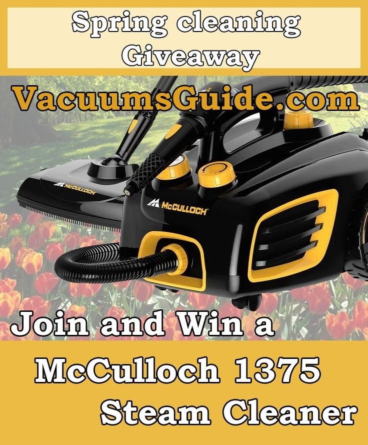 A new spring cleaning giveaway from VacuumsGuide.com