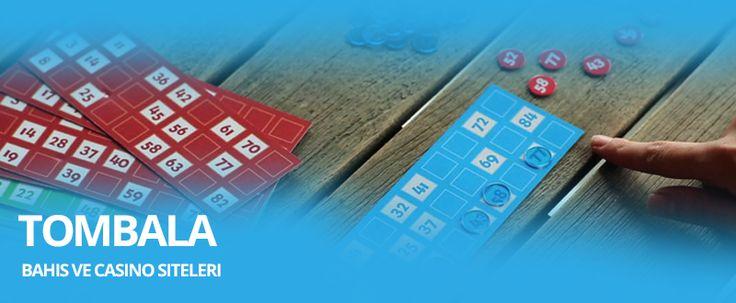 Online Tombala Oynanan Bahis Siteleri   Loto, Kazı Kazan gibi tombala oyunu da günümüzde gerçek hayatta popüler olup internet ortamına aktarılan bir şans oyunudur. Şans oyunları arasında en çok oynanan oyunlardan biri olan Tombala, bahis sitelerine entegre edilerek online oynanabilir bir hale gelmiştir. Online tombala oynanan siteler üzerinden dilediğiniz gibi oynayabilir ve eğlenceli dakikalar geçirebilirsiniz.