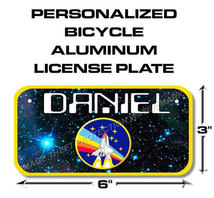 space shuttle license plate - photo #22