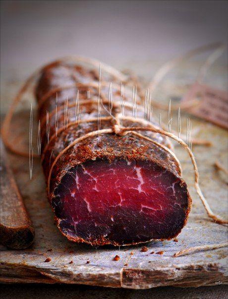 Бастурма и Вяленое свиное филе быстрого приготовления