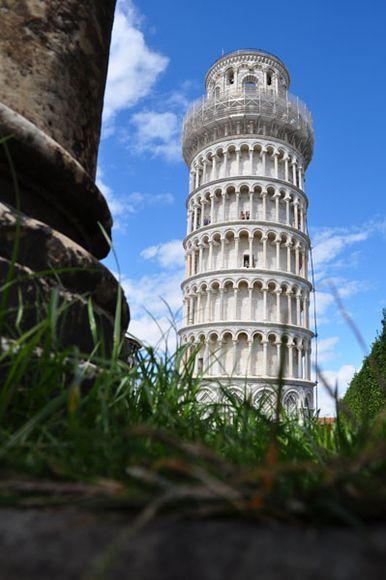 Leaning tower of Pisa - The Leaning Tower of Pisa or simply the Tower of Pisa is the campanile, or freestanding bell tower, of the cathedral of the Italian city of Pisa, known worldwide for its unintended tilt to one side.  For more information visit - http://www.guiddoo.com/