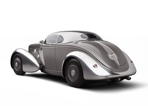 "by Zack Klapman This is one of the most incredible cars I've ever seen. It's the ""Aerosport"", a creation by legendary coach-builder Steve Moal, based on a 1936 Ford. Steve started life by taking over his father's collision repair shop, but in the..."