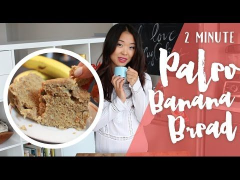 2 Minute Paleo Banana Bread - In the Microwave! - http://www.paleodietdigest.com/paleo-bread/2-minute-paleo-banana-bread-in-the-microwave/