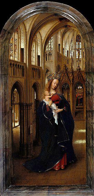 Jan van Eyck - The Madonna in the Church - Google Art Project - Jan van Eyck - Wikipedia, the free encyclopedia