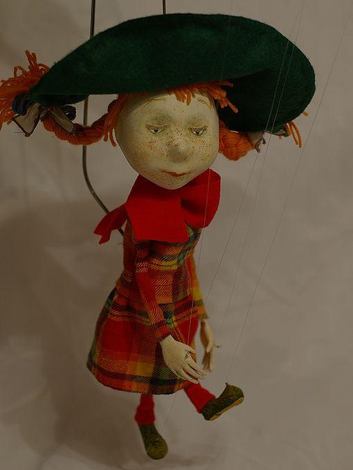 забавные глаза: каркасная кукла марионетка своими руками