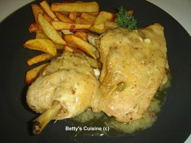 Betty's Cuisine: Κοτόπουλο λεμονοριγανάτο