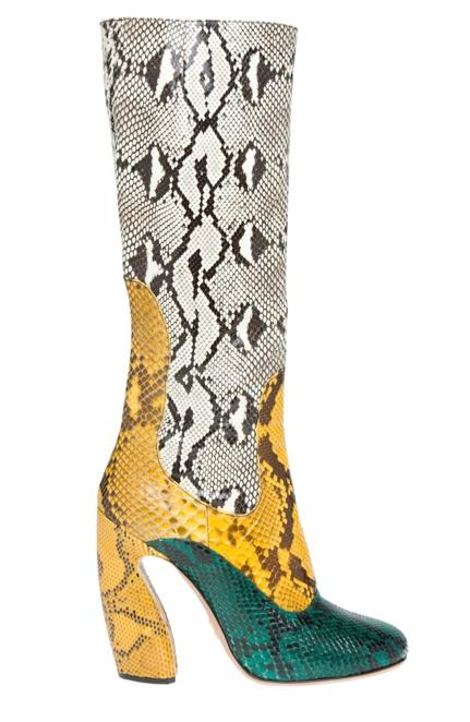 Prada python boots