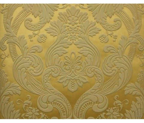 Tapeta 505269 Złoty Duży Ornament