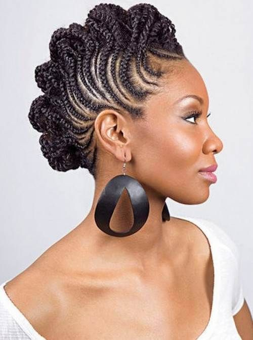 70 Best Black Braided Hairstyles That Turn Heads | Braided ...
