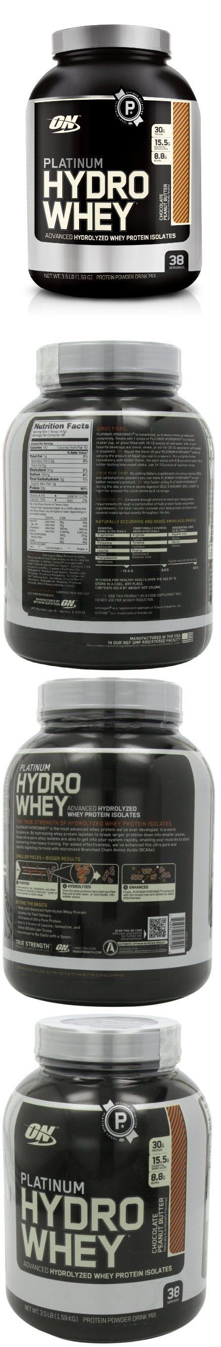 Protein Shakes and Bodybuilding: Optimum Nutrition Platinum Hydro Whey Protein Powder 3.5 Lb - Choose Your Flavor -> BUY IT NOW ONLY: $58.87 on eBay!