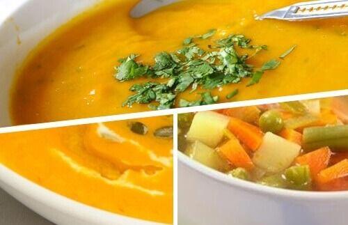 Crème van groentesoepen is de ideale manier om geleidelijk aan gewicht te verliezen, zonder dat je honger hoeft te lijden.