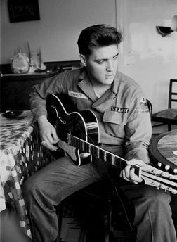 Elvis Aaron Presley (Tupelo, Mississippi, January 8, 1935 - Memphis, Tennessee, August 16, 1977), was an American singer, song producer and ...
