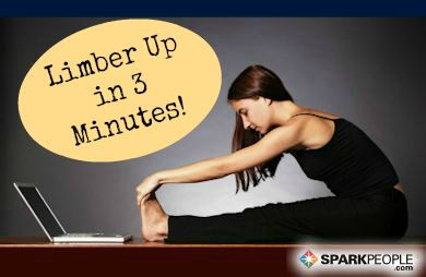 Top skimping on #stretching! This 3-minute video will help you stretch your largest muscle groups FAST.   via @SparkPeople #fitness #stretch