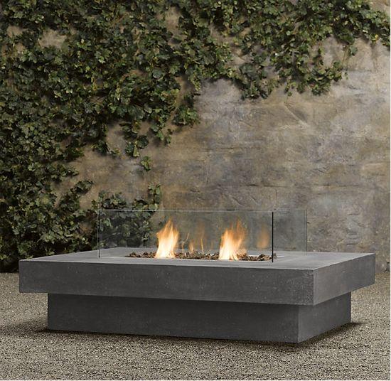 Best 25 Modern Outdoor Fireplace Ideas On Pinterest Modern Outdoor Love Seats Modern Outdoor