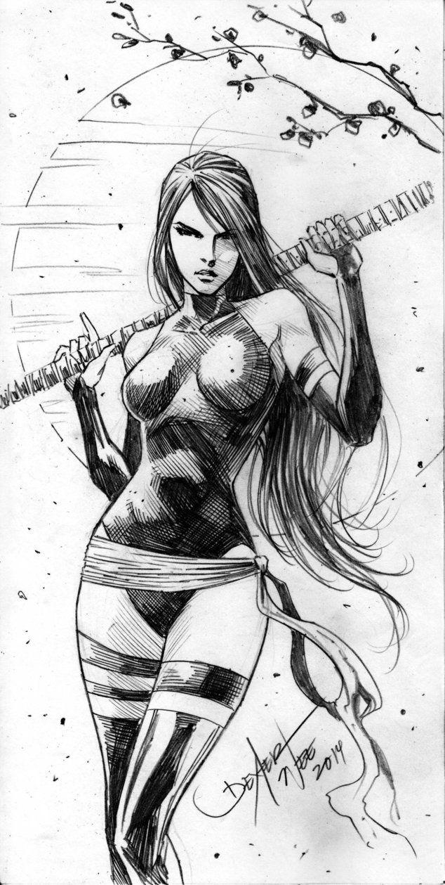Psylocke by Dexter Wee