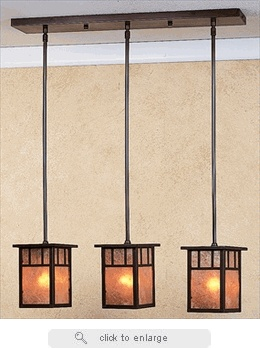 hich4l3 arroyo craftsman huntington three light pendant