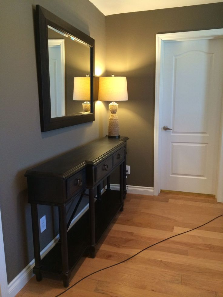 Hallways Are Often Overlooked Spots To Make A Design Statement. A Large  Mirror, A