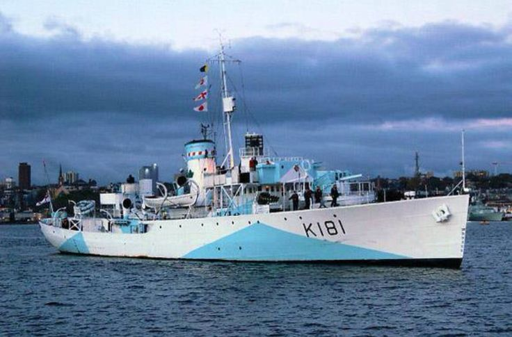 HMCS Sackville, the sole surviving flower-class (or any) corvette, WW II.  Now dockside in Halifax, NS